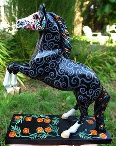 caballo de los muertos - day of the dead horse