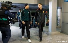 Cristiano and Nemanja...it's almost time!