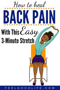 Sick of trying all the different core exercises and feeling your back pain get worse? Well I'm here to help and highly recommend this EASY back pain stretch to eliminate joint pain. It also helps with hip pain relief and knee pain relief. Try it today! Hip Pain Relief, Arthritis Pain Relief, Stress Relief, Back Stretches For Pain, Lower Back Exercises, Core Exercises, Stretching Exercises, Back Pain Remedies