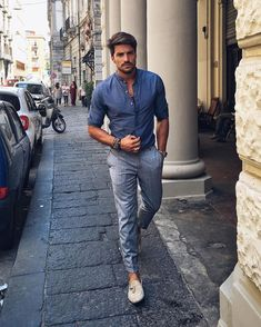 Loafers style by Mariano Di Vaio Mode Masculine, Trendy Summer Outfits, Casual Outfits, Casual Summer, Summer Men, Men Summer Style, Spring Summer, 2017 Summer, Men Looks