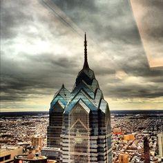 Cloudy day in #Philadelphia.