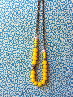 Bohemian statement necklace /Retro style by KerenFleaStyle on Etsy