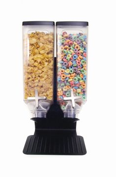 Double Bulk Cereal Dispenser: Creative Breakfast Concepts