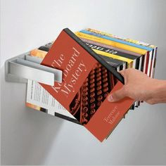 Unique Bookshelves, Unique Shelves, Bookcases, Modern Bookshelf, Floating Bookshelves, Bookshelf Ideas, Bookshelf Design, Vertical Bookshelf, Tree Bookcase