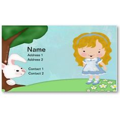 13 best business or calling cards images on pinterest calling adorable personalized business card for a daycare preschool kids calling cards 1910 colourmoves