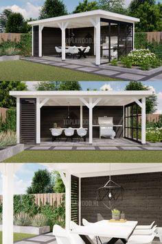 Pergola Patio, Diy Patio, Backyard Landscaping, Gazebo, Patio Ideas, Small Pergola, Modern Pergola, Indoor Outdoor, Outdoor Living