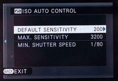 ISO power tips Auto ISO