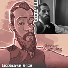 American artist Robert DeJesus continues to transform strangers' photos into anime versions of themselves and we thought it's high time to look at his new works Foto Cartoon, Photo To Cartoon, Cartoon Kunst, Cartoon Faces, Cartoon Art, Cartoon Sketches, Cartoon Styles, Drawing Sketches, Art Drawings