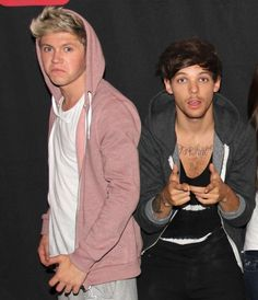 Niall and Louis!