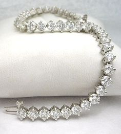 Diamond tennis bracelet, this is not at all me, but I wouldn't turn it down.