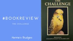 #bookreview The Challenge Budgies, Book Review, Challenges, Author, Blog, Parakeets