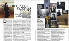 magazine layout - too much text for our purposes, but good ideas