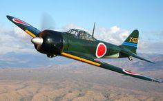 米国プレーンオブフェイム所蔵の零戦 現在、世界で唯一オリジナルの栄エンジンで飛行可能な機体。