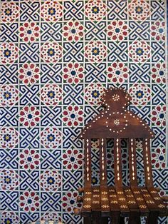 """indigenousdialogues: """" Intricate mosaic tile design (by dolamakes) """""""