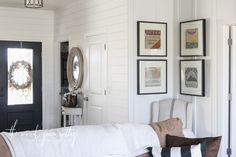 The How & Why Of Combining Different Wall Treatments by The Wood Grain Cottage