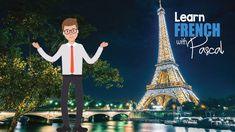 Learn French Free, French Lessons, Learning, Fun, Poster, Studying, Teaching, Billboard, Onderwijs