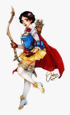 Snow White archer