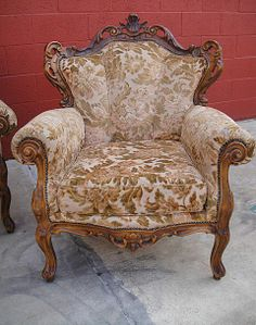 Antique Furniture French Antique Carved Sofa Couch  and Chairs!