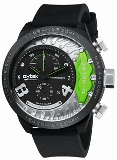 A'-tek A1406N Bremse chronograph men's watch 50mm