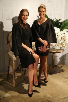 Ksenija Lukich and Magdalena Roze.. #mbfwa #ELLERY #Spring2015