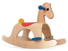 Your little cowboy will love to go for rides on our Palomino Rocking Horse by Plan Toys! This low-set horse features begs for both hands and feet making it a pe Palomino, Rocking Horse Plans, Wood Rocking Horse, Rocking Chair, Toddler Toys, Baby Toys, Kids Toys, Little Tikes, Plan Toys