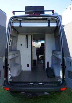2018 Winnebago Revel Sprinter conversion van makes the ultimate adventure vehicle 4x4 Camper Van, Build A Camper Van, Bus Camper, Camper Beds, Van Conversion Interior, Camper Van Conversion Diy, Van Interior, Camper Jacks, Luxury Campers