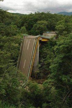 Abandoned Bridge in Japan