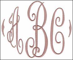 Classic Monogram Set 1