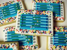 Cookie Swim Meet by WhipitGood sports party food