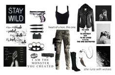 """""""Apocalypse"""" by tymartz1424 on Polyvore featuring Diesel Black Gold, Kane, Bling Jewelry and Plukka"""