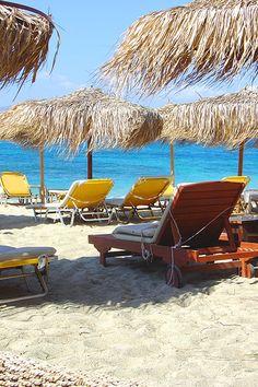 Naxos beach agia anna | Greece