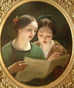 """""""Duet"""",  James Sant, 1820 -1916"""