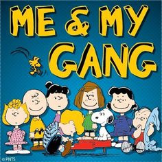 Peanuts Gang. Probably the only animated cartoon I enjoy. Love them!