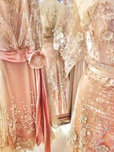 Gabrielle in silk velvet and embroidered tulle - Joanne Fleming Design Robes Vintage, Shabby Vintage, Vintage Outfits, Vintage Fashion, Vintage Clothing, Romantic Clothing, Edwardian Clothing, Women's Fashion, Vintage Dresses