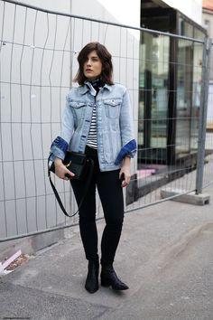 Denim Jacket & Bandana | More on viennawedekind.com
