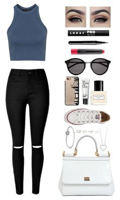 """""""Ummm..."""" by jemma-07845 ❤ liked on Polyvore featuring Dolce&Gabbana, Converse, Topshop, Pandora, Charlotte Russe, Yves Saint Laurent, Marc Jacobs, Casetify, MAC Cosmetics and LORAC"""