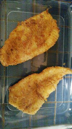 Crispy Baked Walleye