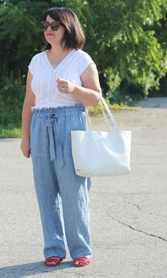 paper bag pants, work outfit, summer style
