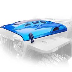 GENSSI Custom Avenger ABS Hood for Jeep Wrangler JK 2007-...