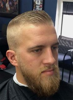 Best High And Tight Haircuts For Men (Top 44 Picks) Best High And Tight Haircuts For Men (Top 44 Picks),Best Hairstyles for Men. Blonde Hair High And Tight Haircut Beard Haircut, Fade Haircut, Popular Haircuts, Haircuts For Men, Short Hair Cuts, Short Hair Styles, High And Tight Haircut, Mens Hairstyles Fade, Faded Hair
