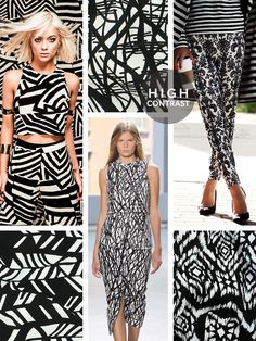 FASHION VIGNETTE: TRENDS // TELIOS . HIGH CONTRAST + BLACK/WHITE