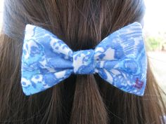 Kappa Kappa Gamma Lilly Pulitzer Fabric Bow - MEDIUM
