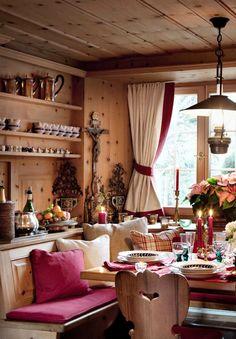 Любимый стиль в интерьере - савойское шале. В нашей квартире много элементов этого стиля.