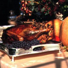 Goose with Chestnut Stuffing Recipe | SAVEUR