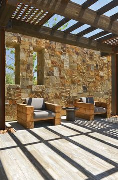 Leflore County Natural Stone Veneer. Natural Stone Veneer, Natural Stones, Masonry Veneer, Natural Materials, Square Feet, Pergola, Outdoor Structures, Patio, Outdoor Decor