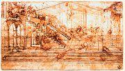 "New artwork for sale! - "" Leonardo Da Vinci - Perspectival Study Of The Adoration Of The Magi by Leonardo da Vinci "" - http://ift.tt/2lY2wK5"