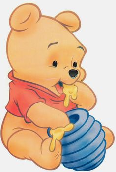 Pooh Baby, Piglet Winnie The Pooh, Winnie The Pooh Birthday, Disney Winnie The Pooh, Cartoon Wallpaper Iphone, Cute Disney Wallpaper, Mickey Mouse Drawings, Disney Drawings, Kawaii Drawings