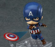 pvc anime figure Captain America Civil War Iron Man 618 Q version Nendoroid PVCaction figure collectible model toys Captain America Action Figure, Captain America Civil War, Avengers Movies, Avengers Age, Anime Figures, Action Figures, Iron Man, Captain America Wallpaper, Captain American