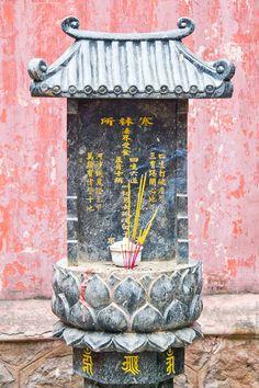 Shrine in Saigon, Vietnam