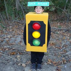For Sale on eBay by PieceOfScrap: Stop Light Halloween Costumes Ideas
